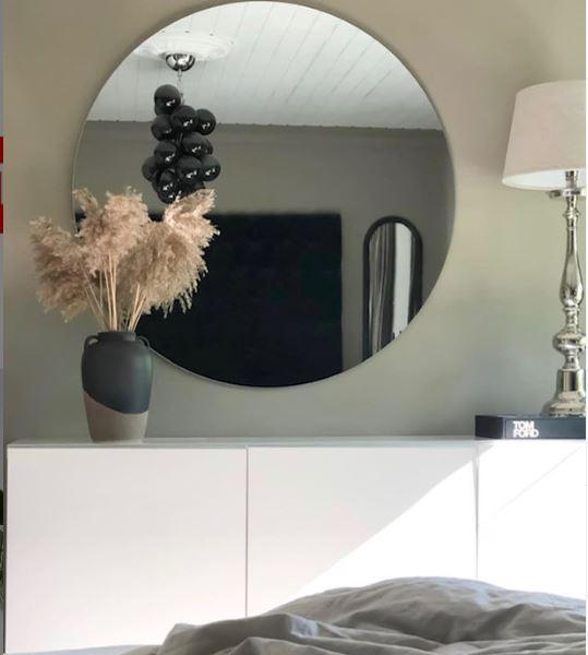 rund spegel 120 cm