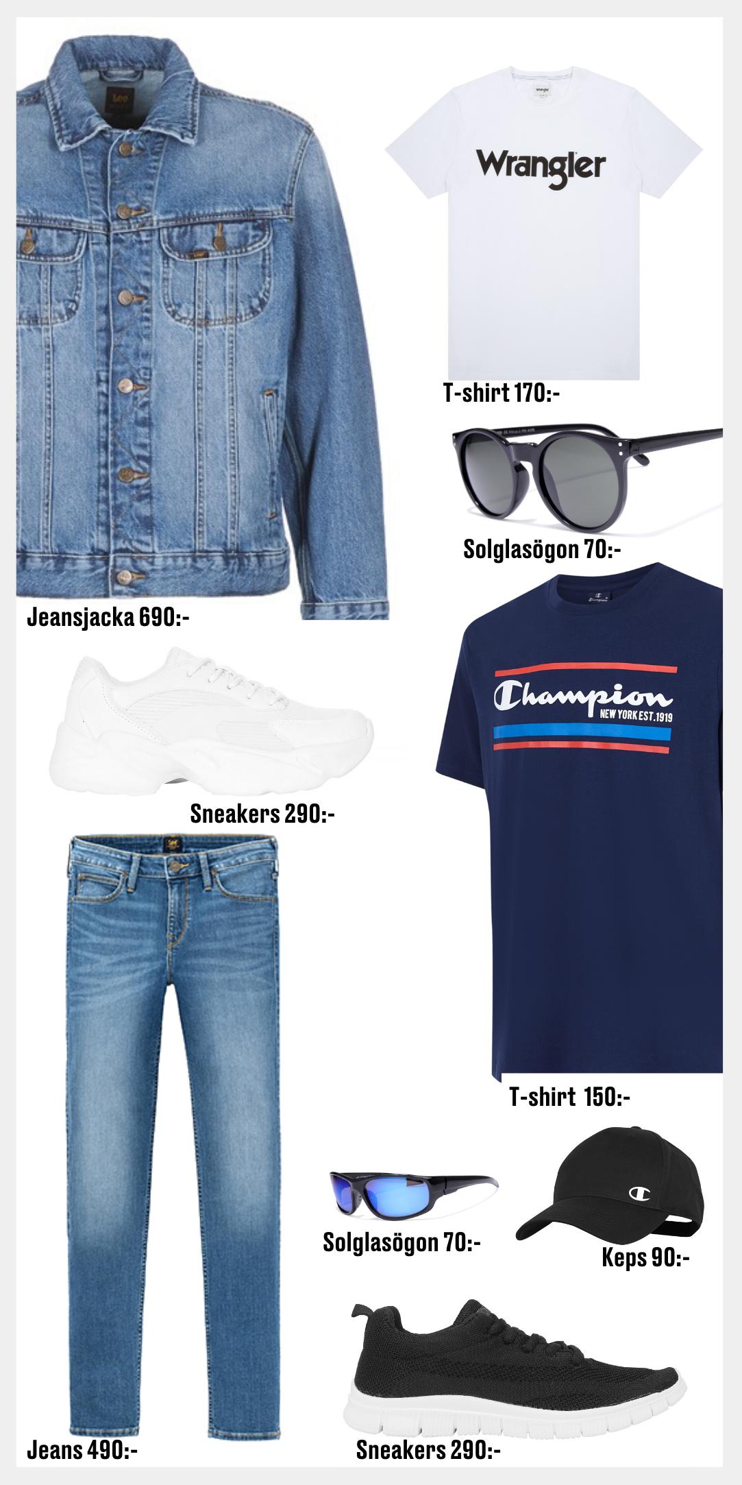 Jeansjacka Åhlens Outlet